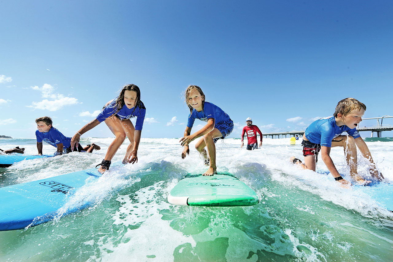 Get Wet Surf School Gold Coast Surf School Surfers Paradise
