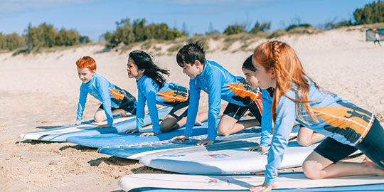 Kids Surfing Programs